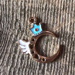 Jewelry - ❤️4 for $25❤️ Gold Plated Enamel Charm